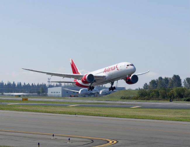Avianca celebra la entrega del primer Boeing 787-8 Dreamliner