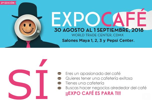 Hoy inicia Expo Café y Gourmet Show