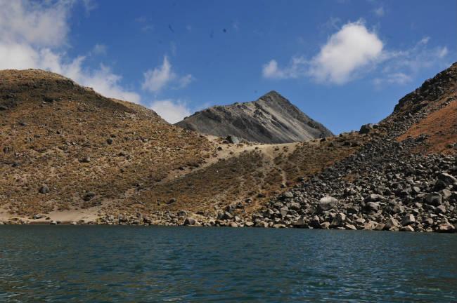 Hallan ofrendas en el Nevado de Toluca
