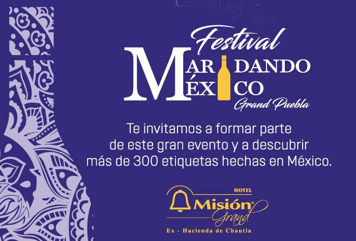 Note pierdas del festival de vinos Maridando México Grand Puebla