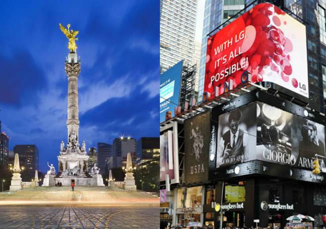 La ruta Ciudad de México-Nueva York 399 dólares boleto redondo