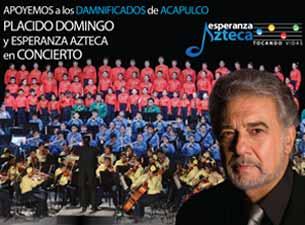 Plácido Domingo y Esperanza Azteca en concierto por Acapulco