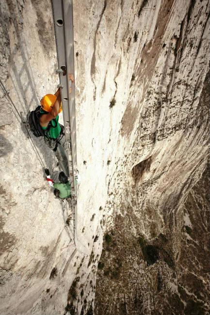 Via Ferrata, naturaleza y adrenalina en un mismo lugar