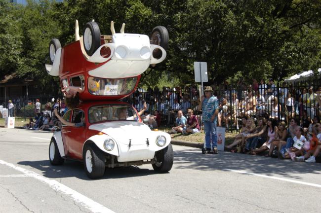 Houston Art Car Parade te invita a celebrar la creatividad