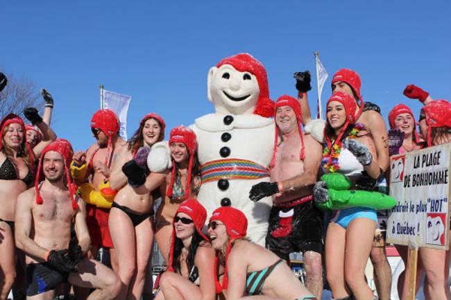 Carnaval de Invierno en Quebec