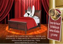 Cena, teatro y hospedaje: ¡La Noche Perfecta!
