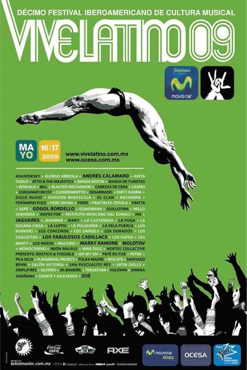 Listo el Vive Latino 09