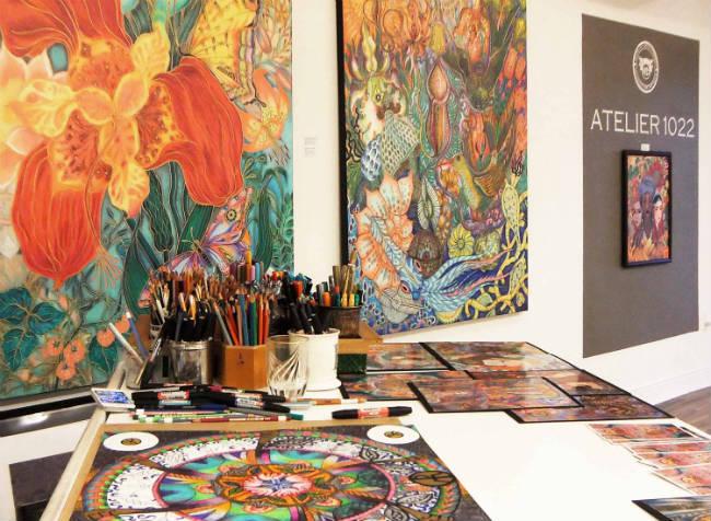 Atelier 1022, arte en Miami