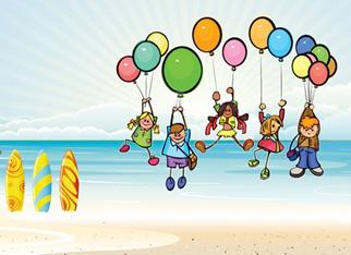 Los niños expresan su creatividad en Esperanza Resort