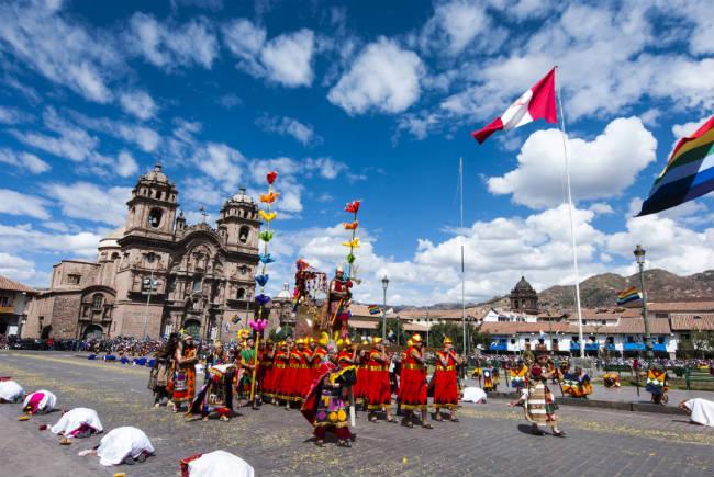 La gran fiesta Inca del sol, Perú