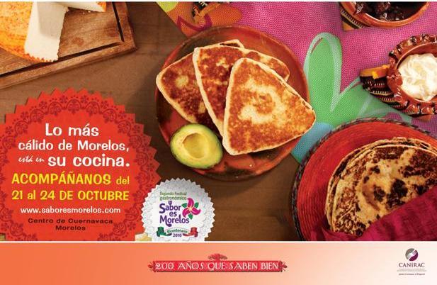 Festival gastronómico Sabor es Morelos