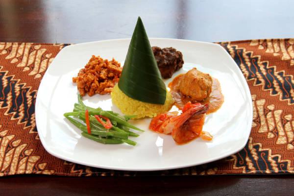 Festival gastronómico de Indonesia en Sheraton