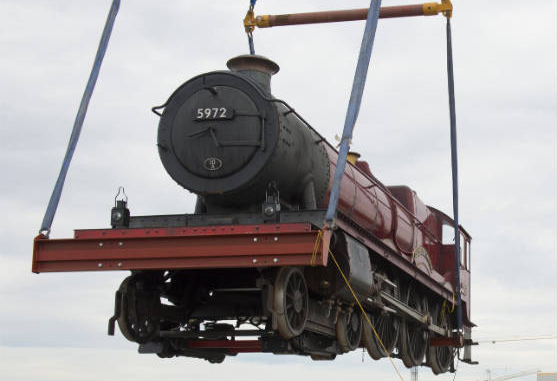 Hogwarts Express llegó a Universal Orlando