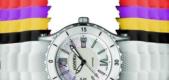 "Roamer presenta el reloj  ""Ceraline Pure"""