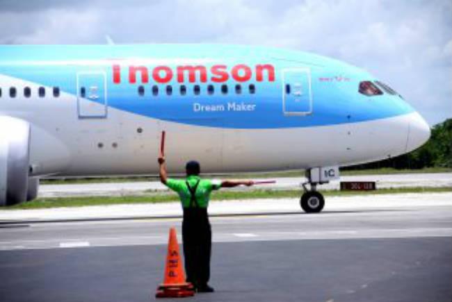 Llega el primer Dreamliner Boing 787 al Aeropuerto de Cancún