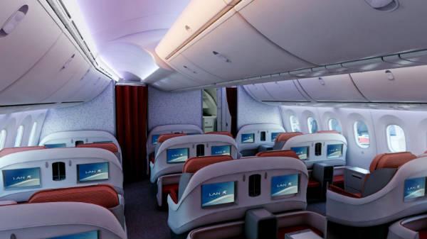 LAN primera aerolínea en operar el Boeing 787 Dreamliner del continente americano