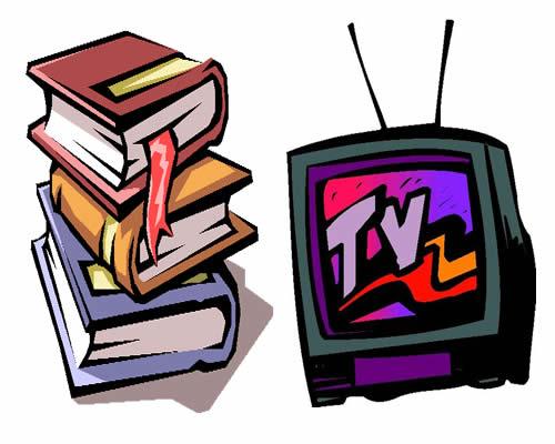 Libros contra televisión