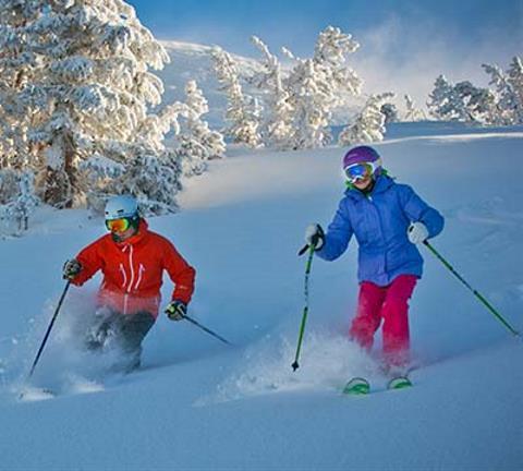 Temporada de esquí en Mammoth Lakes