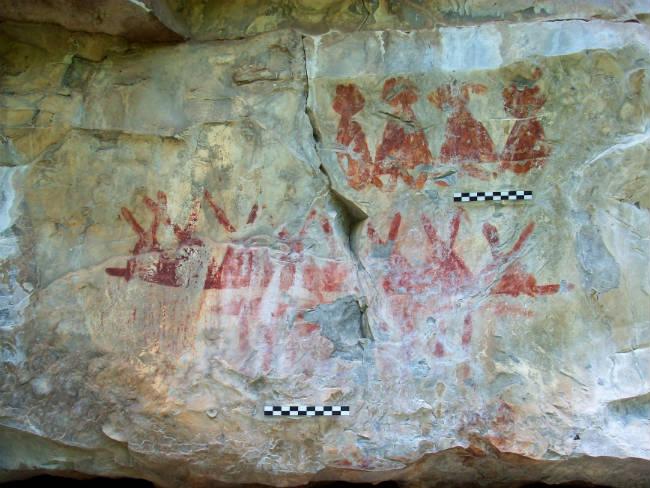 Pintura rupestres en Tamaulipas