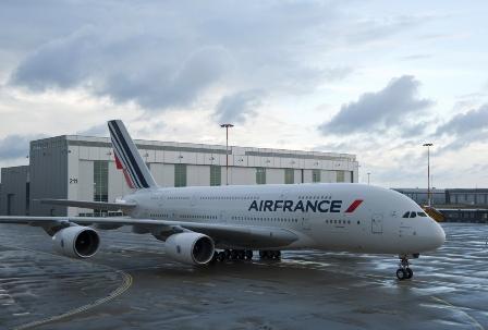 Vuela A380 con nueva imagen de AirFrance