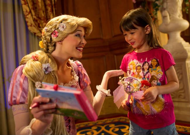 Disney abre Princess Fairytale Hall