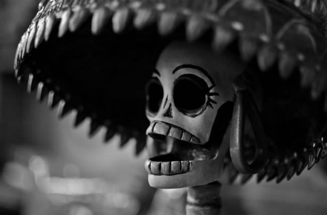 La celebración  de vivos y muertos en Veracruz