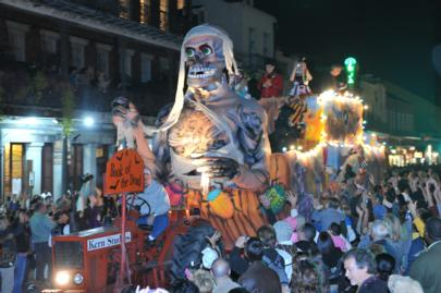 Festeja Halloween en Nuevo Orleans