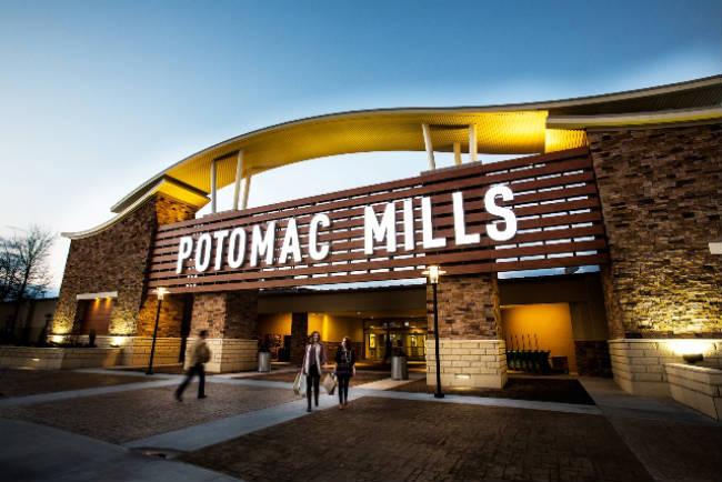 Nuevos restaurantes en Potomac Mills