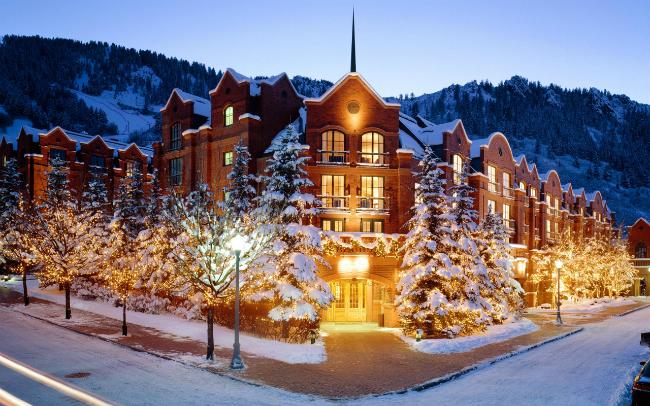 Cinco hoteles top de Aspen
