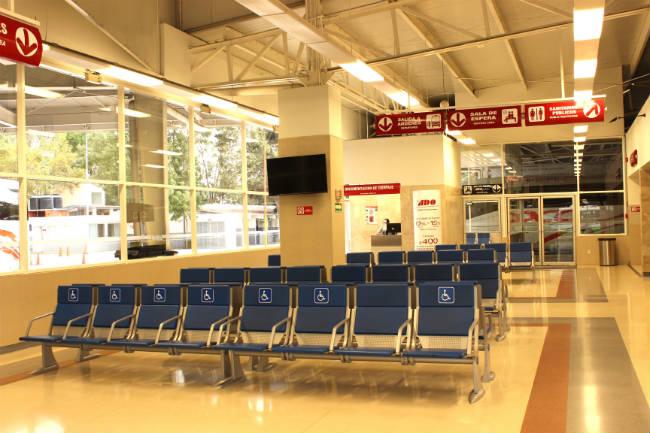 Terminal ejecutiva de ADO