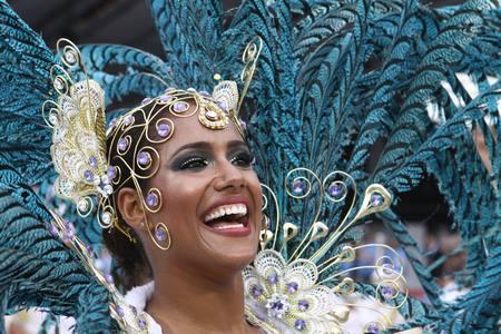 Imágenes del Carnaval de São Paulo