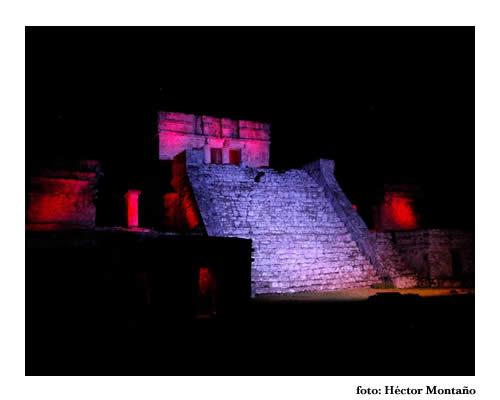 Visitas nocturnas en Tulum
