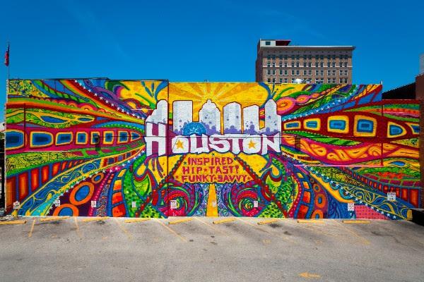 Houston Presenta Festival Experiencia Urbana HUE Mural Festival
