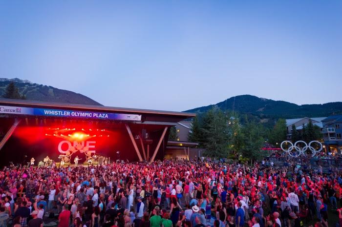 Whistler tendrá serie de conciertos gratuitos este verano