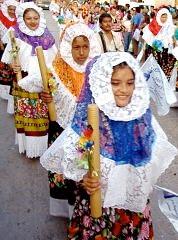 Las Velas de Mayo en Juchitán.